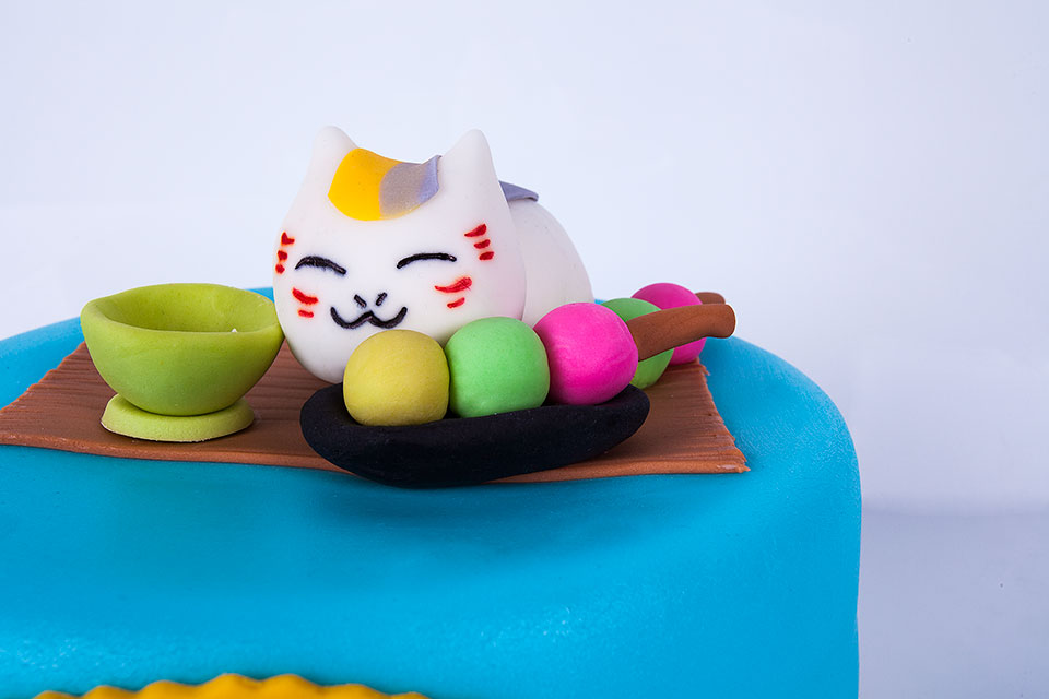 Asian Cat Theme Birthday Cake In NYC